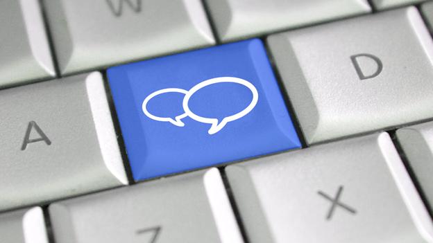 Como tratar da página nas redes sociais
