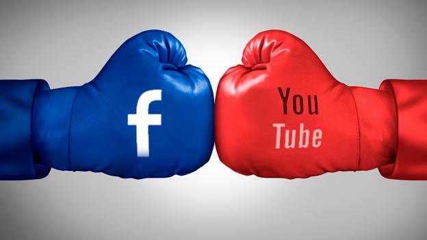 Vídeo no Youtube ou no Facebook?