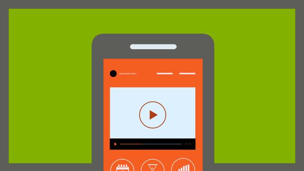 O uso dos dispositivos móveis para vídeos online