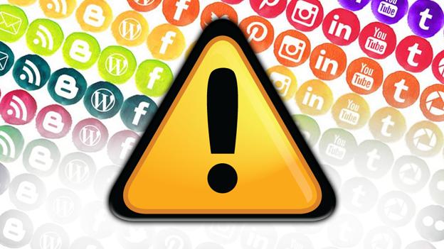 O que evitar nas redes sociais